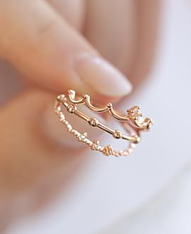 CROWN  Ring Rosé