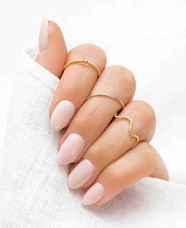 WAVY  Ring Gold