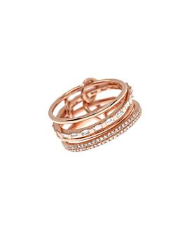 DIAMOND Ringset 14K Roségold