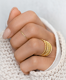 GAÏA RING SET GOLD