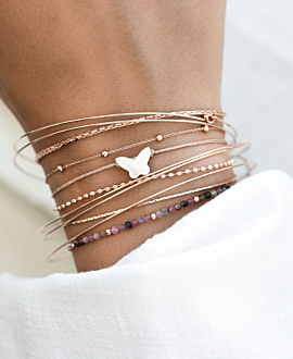 BUTTERFLY Armband Gold