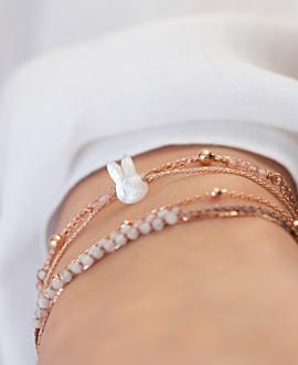 BUNNY  Armband Rosé