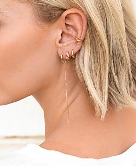 MARQUISE Ear Cuff  Single Rosé