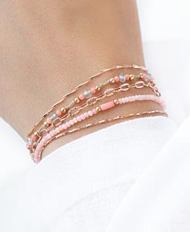 CORAL GLITZ  Armband