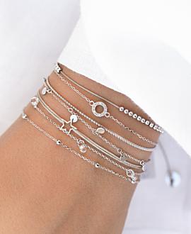 STAR  Armband Silber