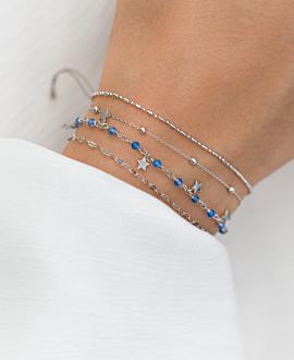 STAR CHARM  Armband Silber