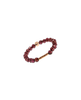 BAR STONE|Ring Bordeaux