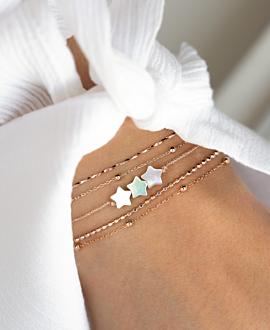 TINY STARS  Armband Gold