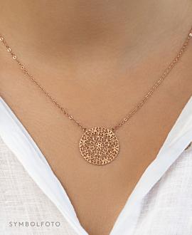 FLOWER ORNAMENT  Halskette Gold