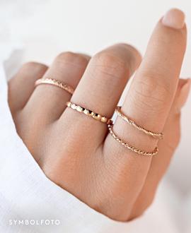 TANGLED  Ring Silber