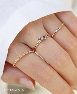BINE  Ring Silber