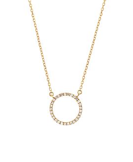 DOAMOND Halskette|14K Gold