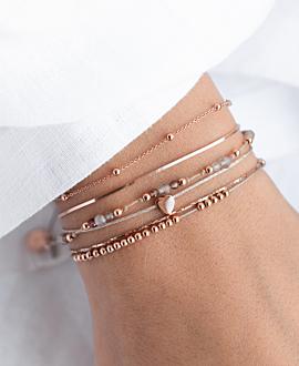 MI AMORE  Armband Rosé
