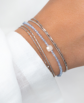 TOPAZ  Armband Blau