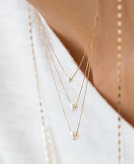 TRIANT Halskette  10K Gold