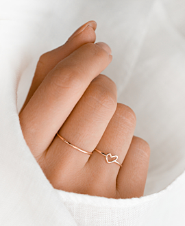 TRUE LOVE  Ring Rosé