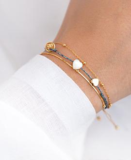 VERSATILE HEARTS  Armband Gold