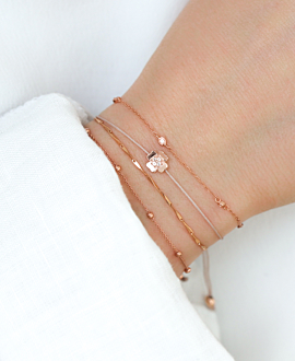 WATER LILY  Armband Rosé