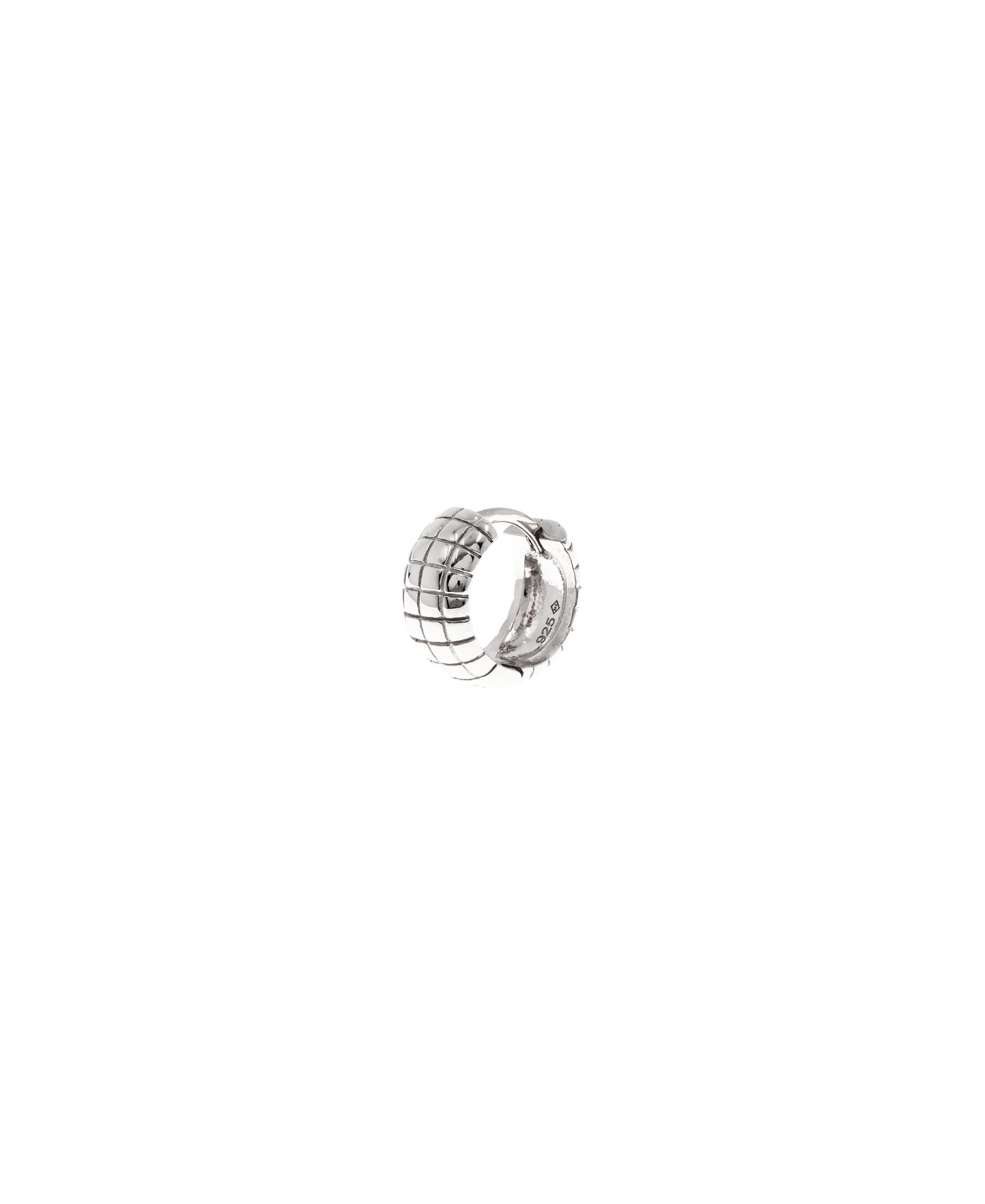 Mini Creole Single Silber