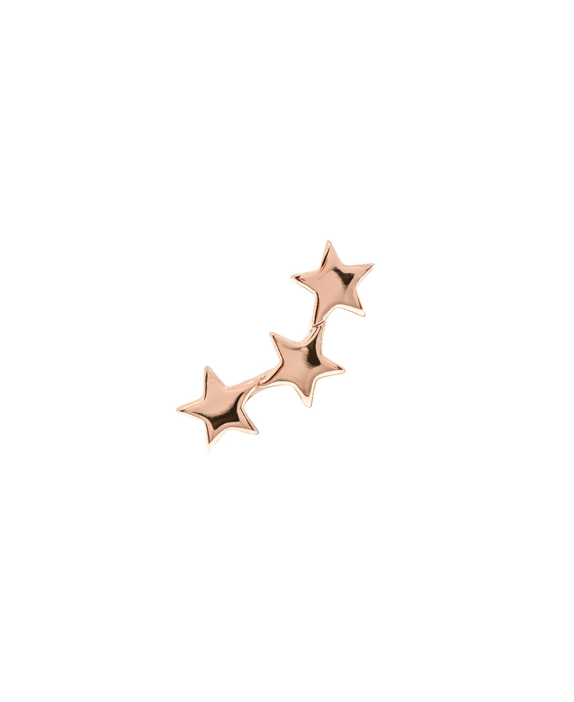 STAR Ohrstecker Single Rosé